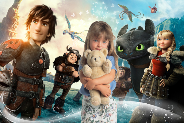 Детские шаблоны для фотошопа: Как приручить дракона
