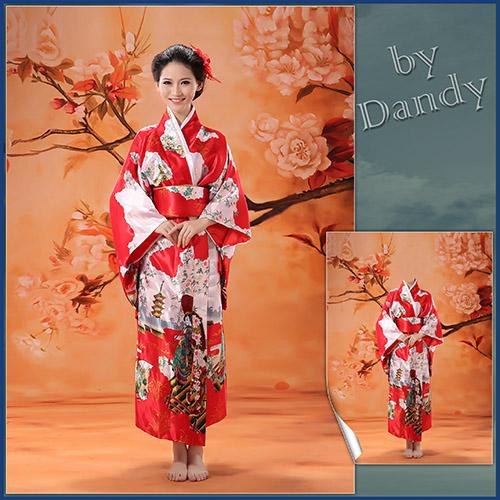 Женские шаблоны для фотошопа: Девушка в кимоно