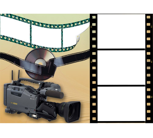 Мужские рамки для фотошопа: Кинооператор