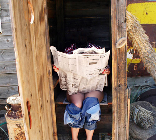 Приколы фотошопа для женщин: Лучшее место для чтения
