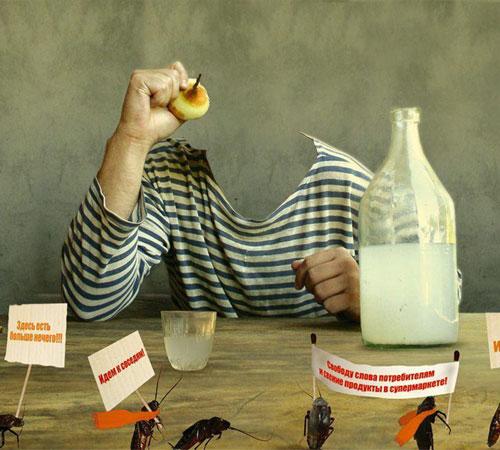 Приколы фотошопа для мужчин: Бунт тараканов