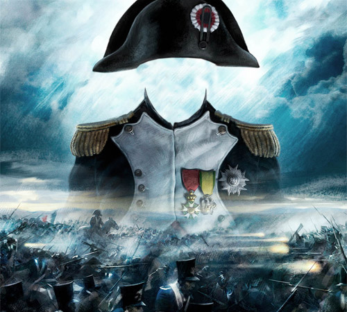 Мужские шаблоны для фотошопа: Наполеон