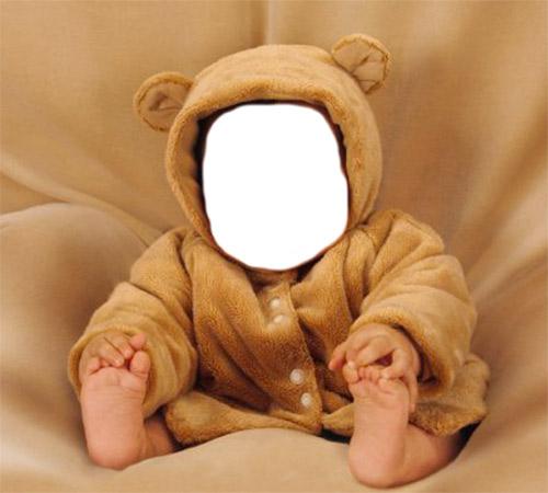 Детские шаблоны для фотошопа: Мишка косолапый
