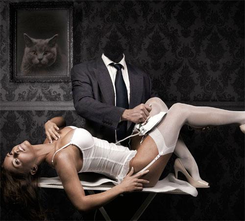 Приколы фотошопа для мужчин: Люблю гладить