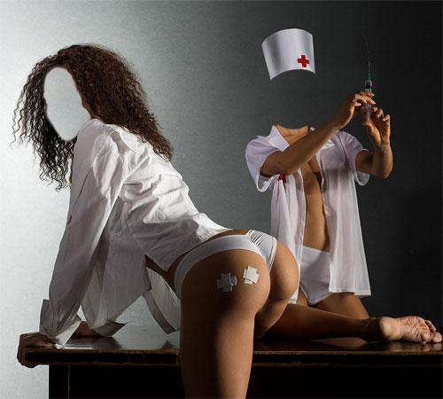 Приколы фотошопа для женщин: Щас укольчики сделаем