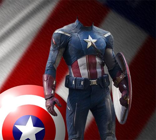 Шаблоны из кинофильмов: Капитан Америка