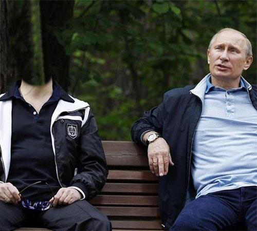 Шаблоны со знаменитостями: Помечтаем с Путиным