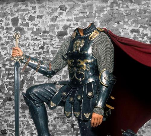 Сказочные шаблоны: Благородный рыцарь