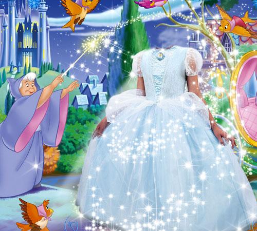 Детские шаблоны для фотошопа: Волшебство