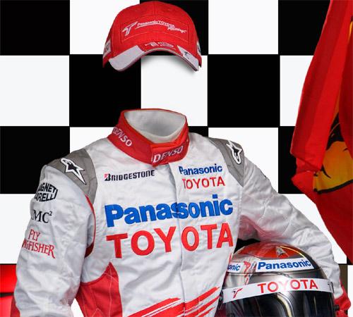 Шаблоны - профессии: Автогонщик Ferrari