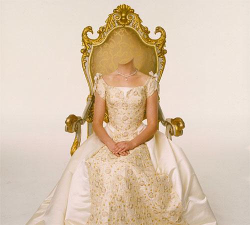 Сказочные шаблоны: Принцесса на троне