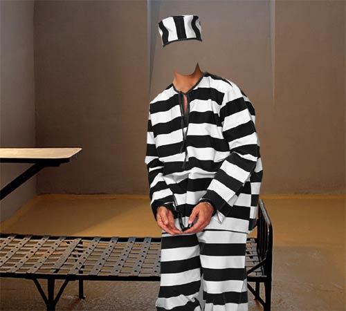 Приколы фотошопа для мужчин: Заключенный