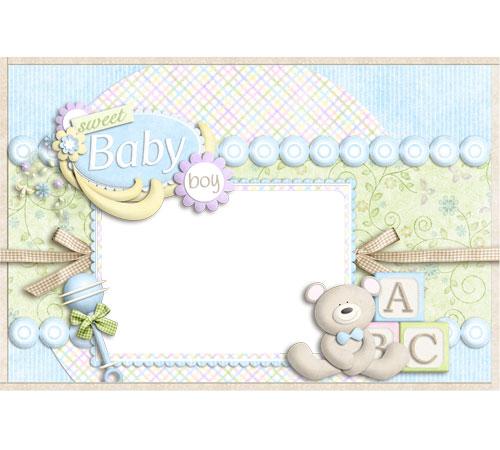 Рамки для новорожденных: Baby