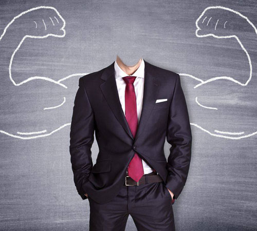 Приколы фотошопа для мужчин: Я силен! Внутренне...
