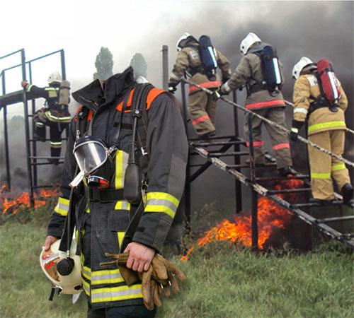Шаблоны - профессии: Пожарный