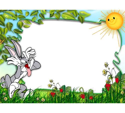 Детские рамки для фотошопа: Давай подразним солнышко?