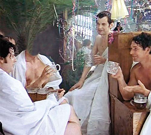 Шаблоны из кинофильмов: В бане. С легким паром!