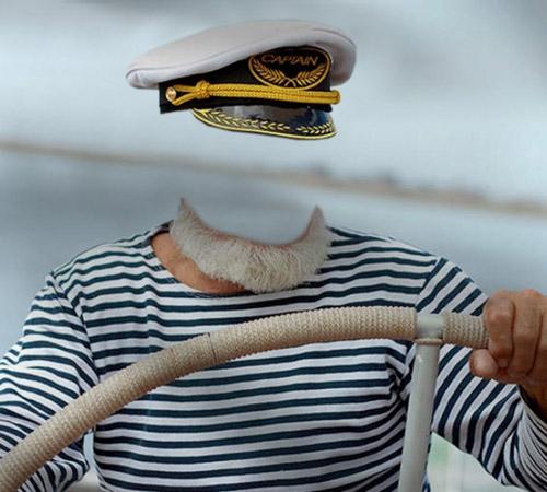 Шаблоны - профессии: Капитан корабля
