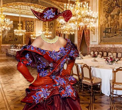 Женские шаблоны для фотошопа: На царском приеме