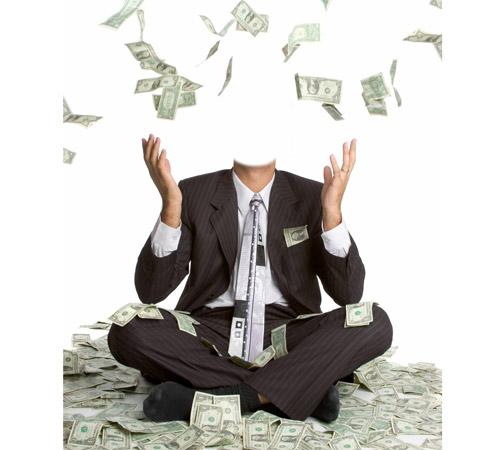 Приколы фотошопа для мужчин: Завалило деньгами