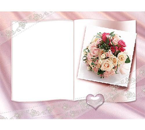 Рамки с цветами для фотошопа: Нежность