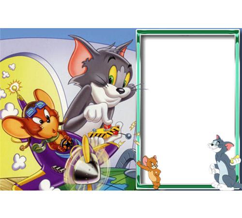 Рамки с героями мультфильмов: Том и Джери