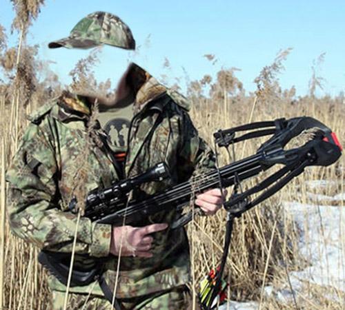 Мужские шаблоны для фотошопа: Охота с арбалетом