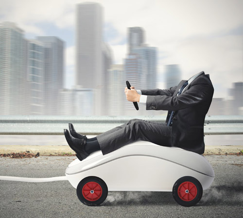 Приколы фотошопа для мужчин: Опаздываю на работу