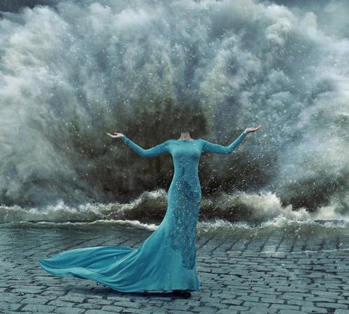 Приколы фотошопа для женщин: Да грянет шторм!
