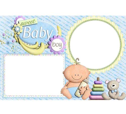 Рамки для новорожденных: Baby boy