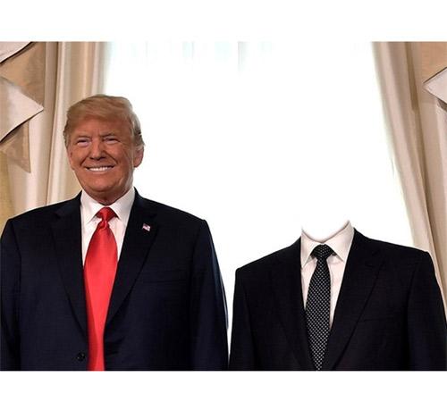 Приколы фотошопа для мужчин: Фото с Трампом