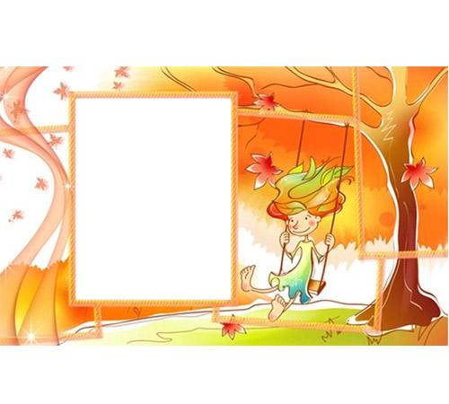 Рамки с цветами для фотошопа: Осенняя рамка