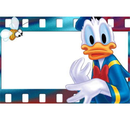 Рамки с героями мультфильмов: Утенок Дональд