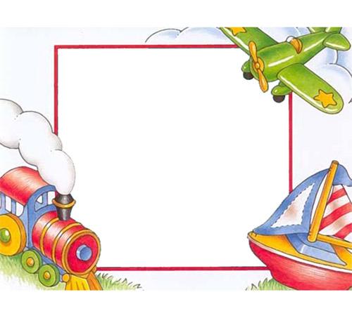 Детские рамки для фотошопа: Детские рисунки