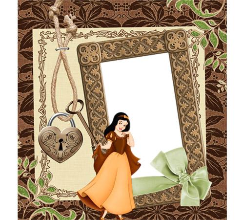 Женские рамки для фотошопа: Ключик от сердца