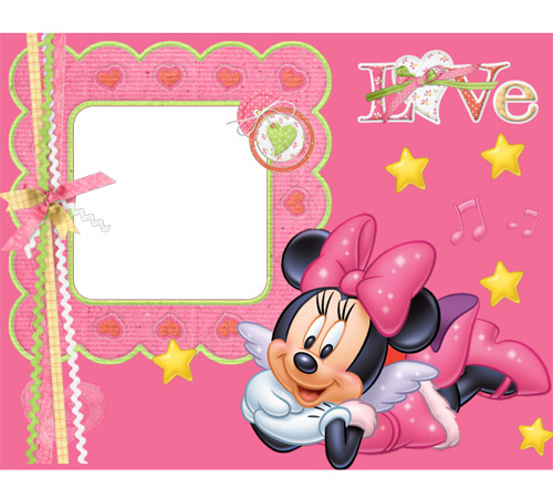 Детские рамки для фотошопа: Love!