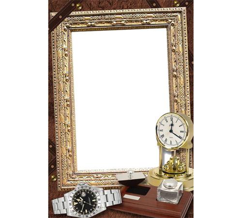 Мужские рамки для фотошопа: Тому кто ценит время