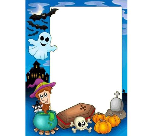 Праздничные рамки для фотошопа: Хелоуин