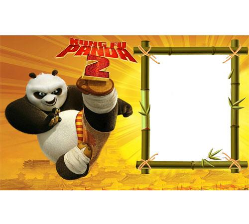 Рамки с героями мультфильмов: Кунг-фу Панда