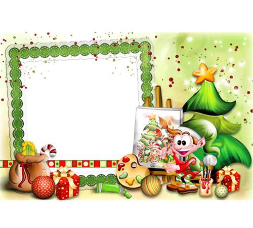 Детские рамки для фотошопа: Получай подарки!