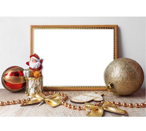 Праздничные рамки для фотошопа: Рамка на столе