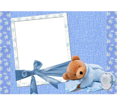 Детские рамки для фотошопа: Сладких снов