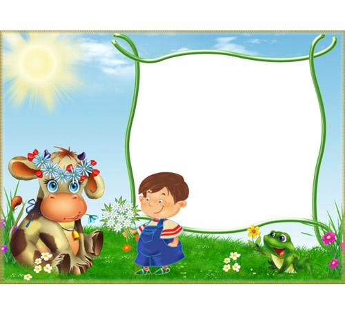 Детские рамки для фотошопа: Дети - наше ВСЕ!