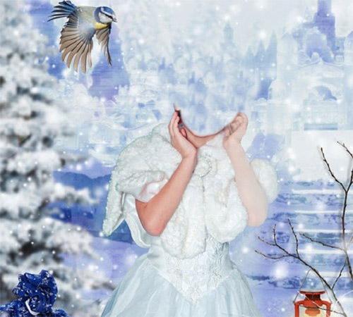 Детские шаблоны для фотошопа: Новогодние мечты