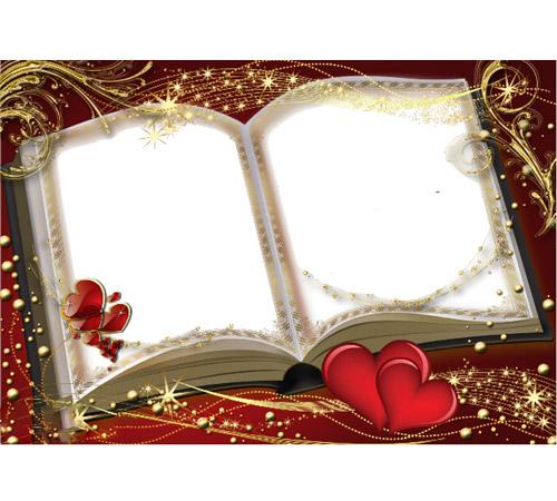 Рамки  - сердечки для фотошопа: Дорогие сердцу фото