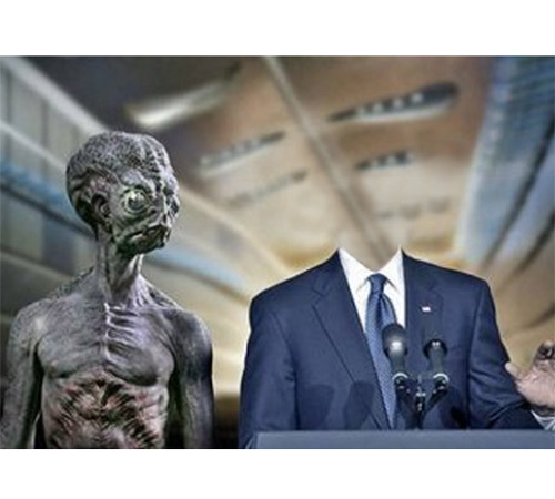 Приколы фотошопа для мужчин: Брифинг с инопланетянами