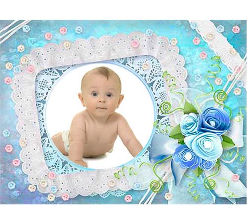 Рамки для новорожденных: Наш малыш