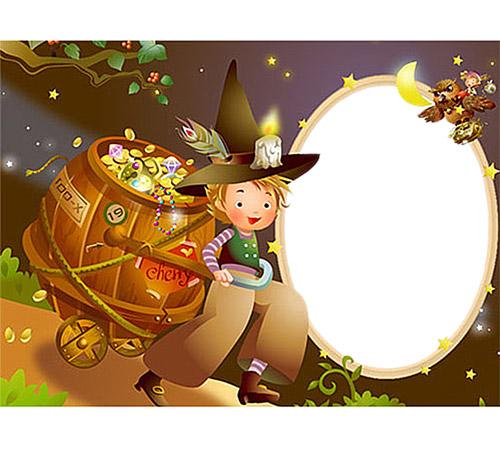 Рамки с героями мультфильмов: Маленький принц