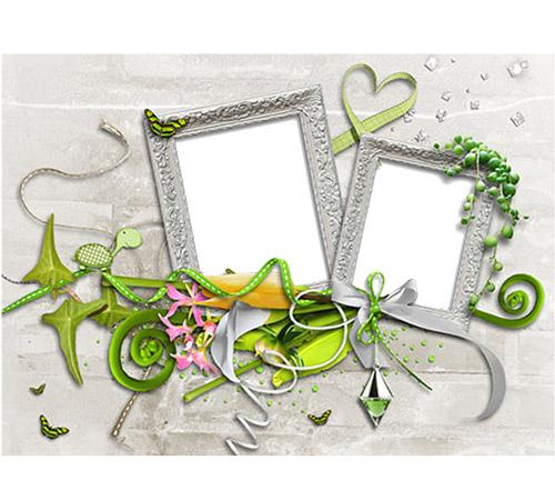 Женские рамки для фотошопа: Мы молодые...