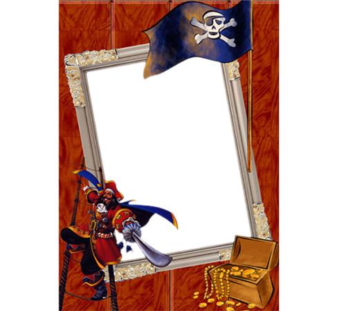 Детские рамки для фотошопа: Пираты
